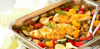 Pan Roasted Rosemary Chicken & Cauliflower - Cook For Your Life- anti-cancer recipes