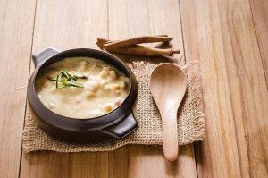 Scallop Corn Chowder Recipe Image