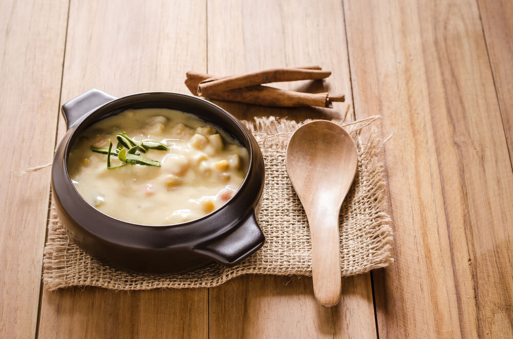 scallop corn chowder- cook for your life- anti-cancer recipes