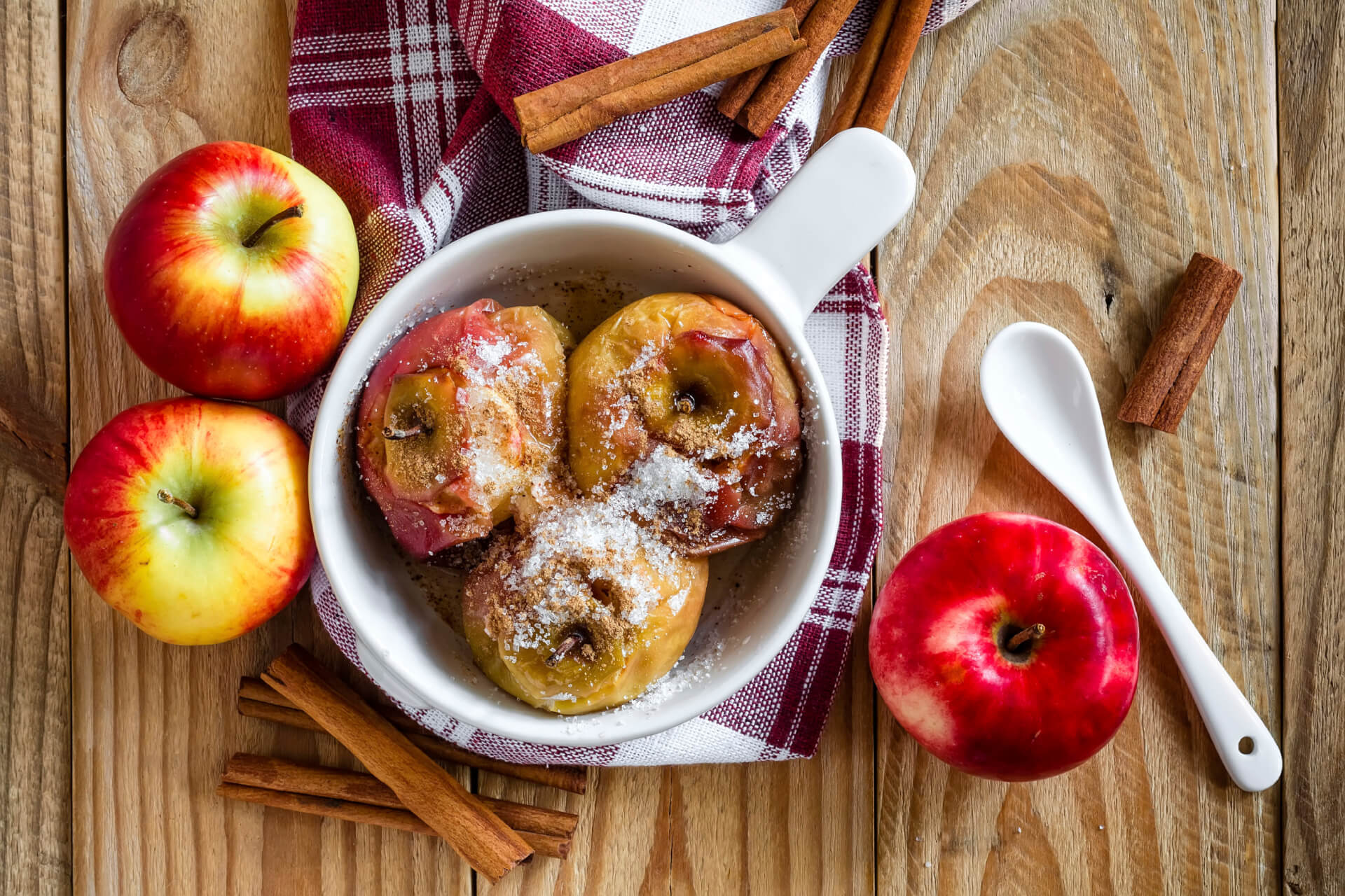 Baked Apples Image