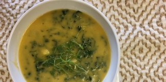 vegan Sopa Verde - cook for your life- anti-cancer recipes