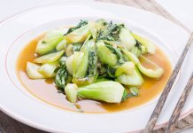 Bok Choy Braised In Soy Sauce, anti cancer-cook for your life