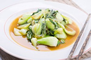 Soy Braised Bok Choy Recipe Image