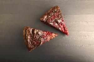 Pastel de Chocolate, Soya y Frambuesas Recipe Image
