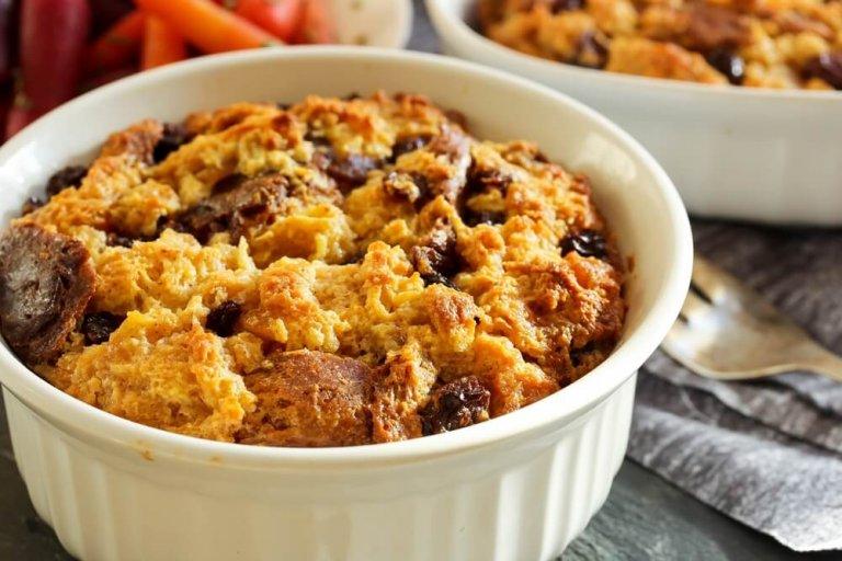 Pudín de Patata Dulce Recipe Image