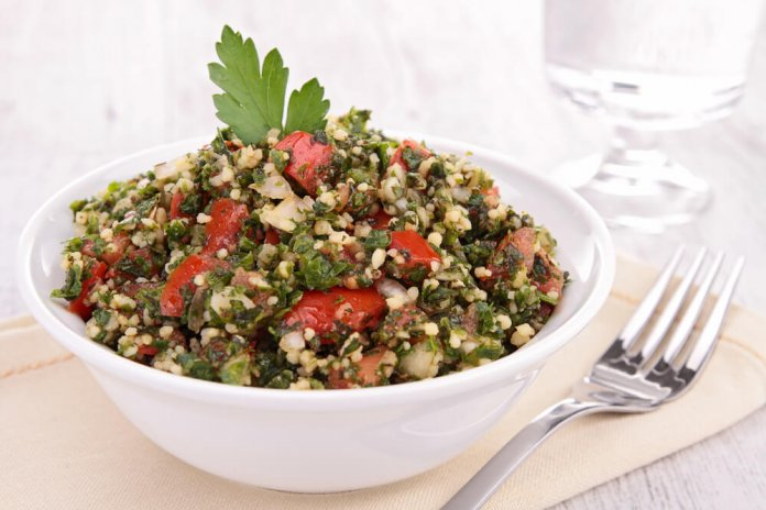 Millet Tabbouleh- cook for your life- anti-cancer recipes
