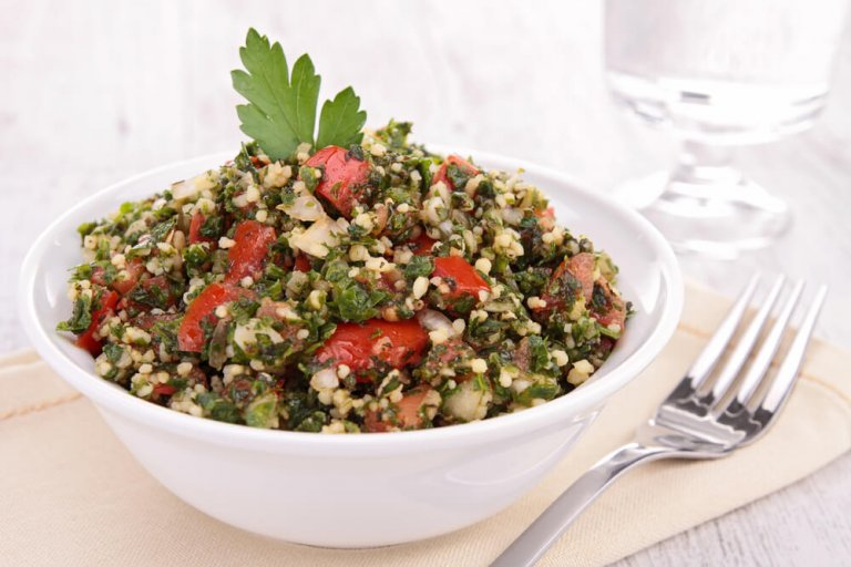 Millet Tabbouleh Recipe Image