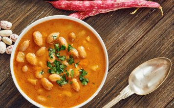 tangy sweet potato and cannellini bean soup - cook for your life