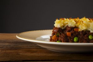 Tarta de Acción de Gracias Shepherd's Recipe Image