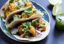 Roasted Fall Veggie Vegan tacos, anti-cancer - cook for your life
