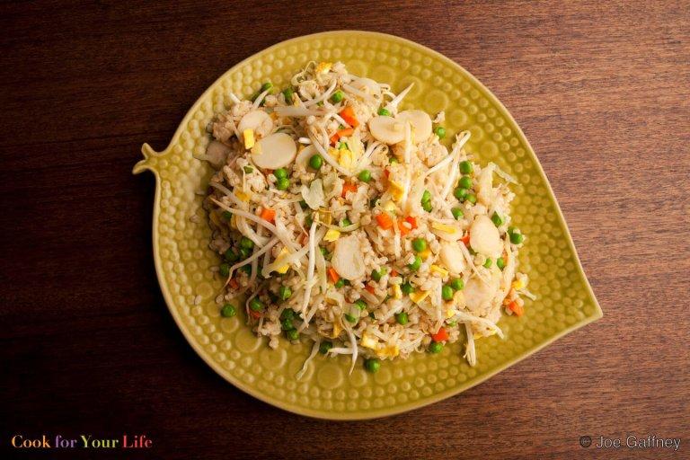 Veggie Fried Rice Recipe Image