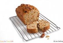 Walnut Raisin Banana Bread - Cook For Your Life- anti-cancer recipes