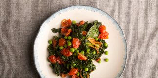Wine Braised Kale - anti-cancer recipes - Cook for Your Life-veggie sides