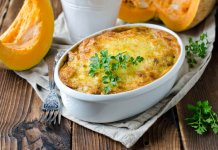 Winter Pumpkin Pasta Bake - Cook For Your Life- anti-cancer recipes