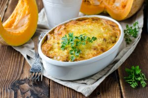Winter Pumpkin Pasta Bake Recipe Image