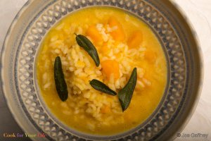 Winter Squash Risotto Recipe Image