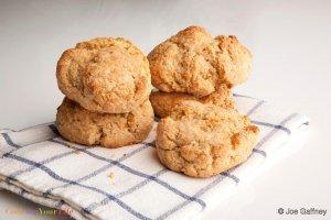 Yogurt Whole Wheat Biscuits Recipe Image