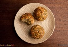 Zucchini, Cheddar & Quinoa Muffins - Muffins de Calabacín, Chedar, y Quinoa, Anti-cancer recipes - Cook for Your Life