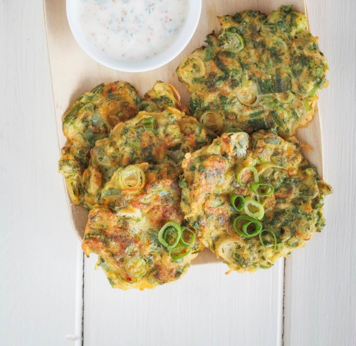 Zucchini Fritters - Cook For Your Life- anti-cancer recipes