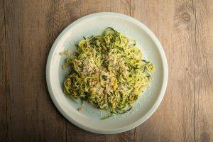 Pesto Veggie 'Pasta' Recipe Image