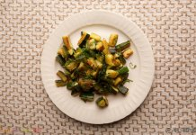 Zucchini with Mint - Cook For Your Life- anti-cancer recipes