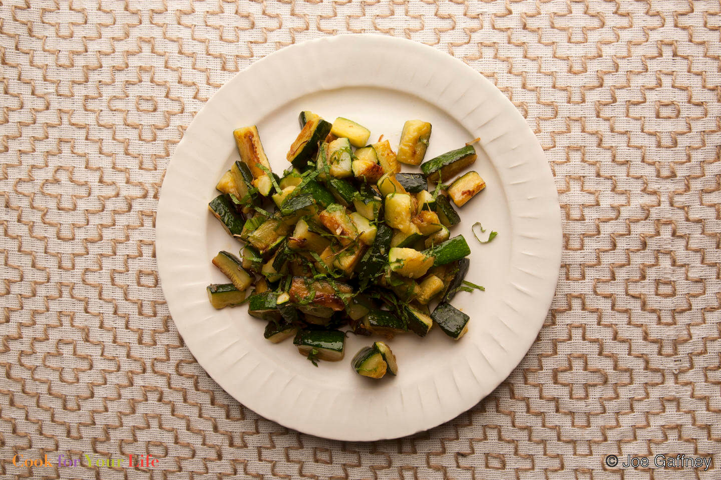 Zucchini with Mint Image