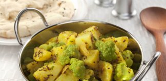 cauliflower and potato curry - anti-cancer recipes - cook for your life