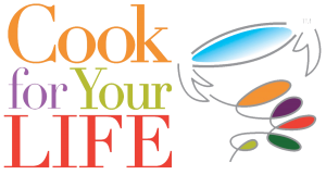 Cook for Your LIFE with cup logo
