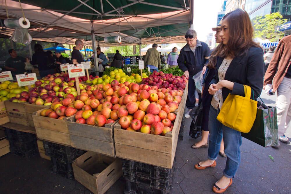 En el Greenmarket Image