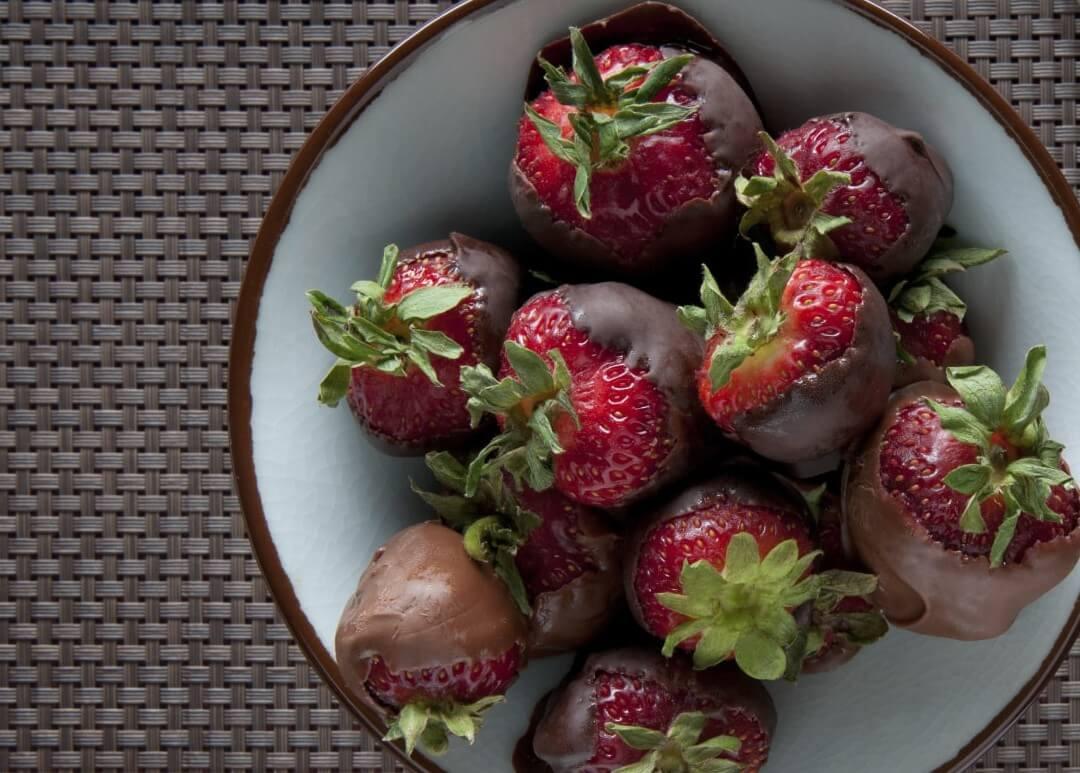 chocolate covered fruit recipe