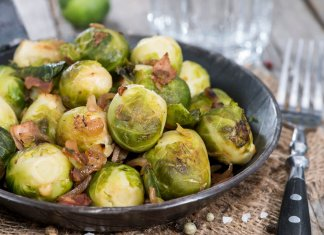 Sauteed Brussels Sprouts with Shallots - Cook For Your Life- anti-cancer recipes