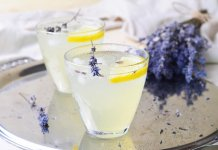 Lavender lemonade, Summer coolers, non alcoholic drinks- cook for your life- anti-cancer recipes