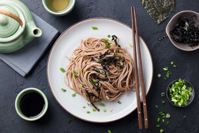 Toshikoshi Year-End Soba Noodles Recipe Image