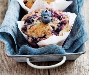 Blueberry Muffins Recipe Image