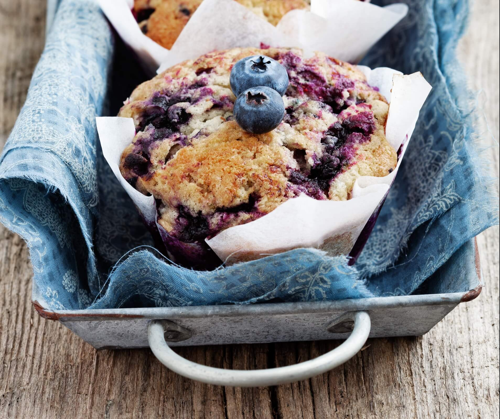 blueberry, whole wheat flower- anti-cancer recipes- cook for your life
