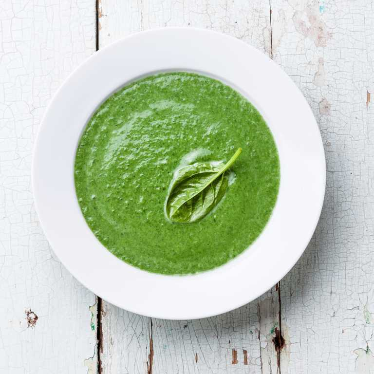 Swedish Spinach Soup Recipe Image