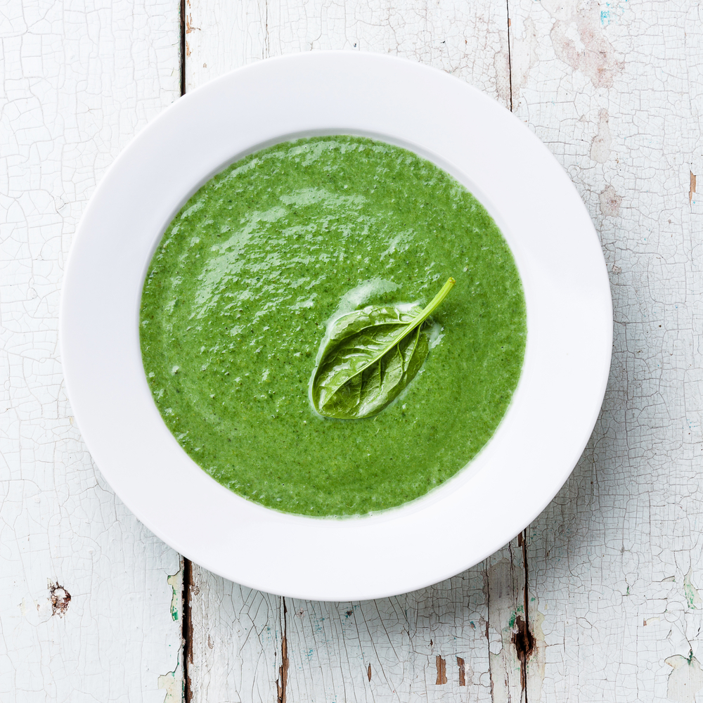 Swedish Spinach Soup - Cook For Your Life- anti-cancer recipes
