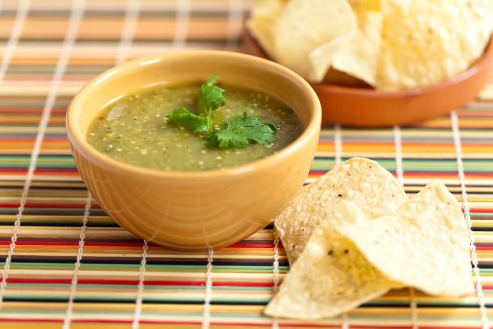 salsa, verde, tomatillo, poblano pepper- Salsa Verde- anti-cancer recipes- cook for your life