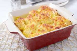 High Protein High Calorie Cauliflower Gratin Recipe Image