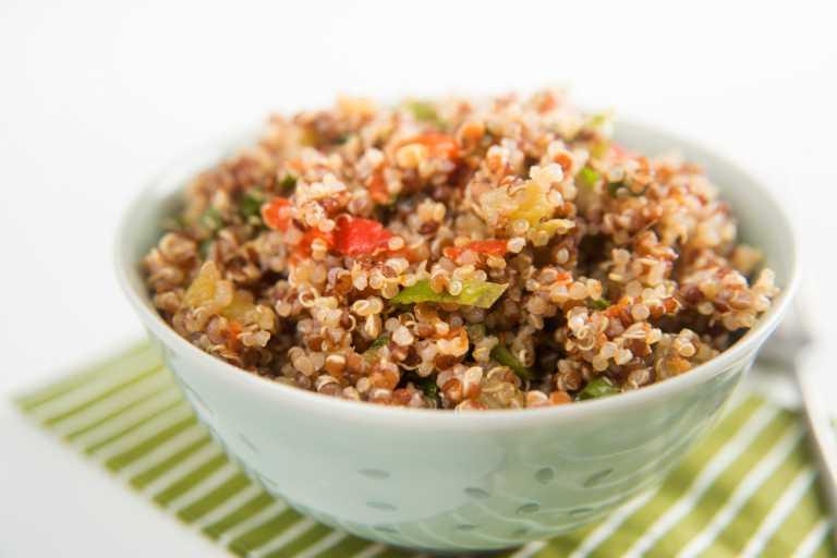 Thai-style Savory Coconut Quinoa Recipe Image