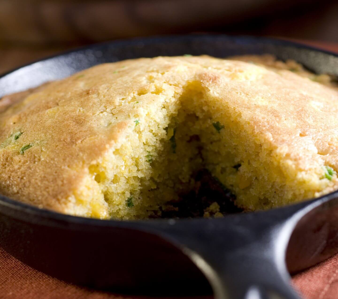 Jalapeño Cornbread- anti-cancer recipes- cook for your life