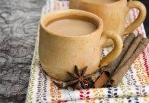 almond milk, chai tea, vanilla, cinnamon- Almond Milk Chai Tea- anti-cancer recipes- cook for your life