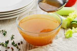 Rich Chicken Stock Recipe Image