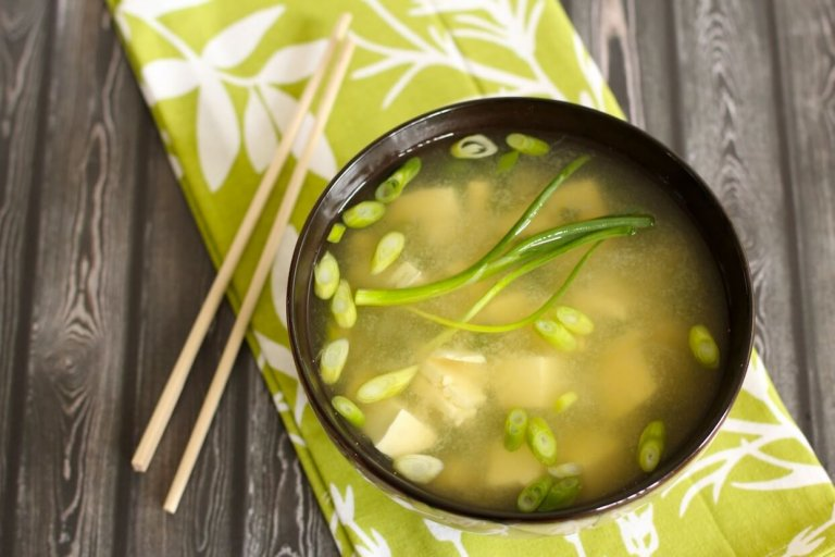 Summer Miso Soup Recipe Image