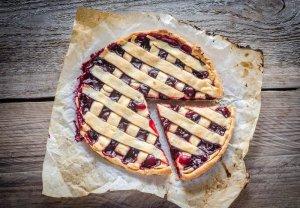 Pastel de Cerezas Recipe Image
