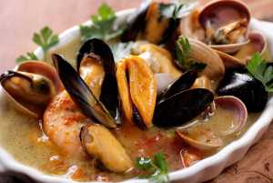 Matelote de Poissons – French Seafood Stew Recipe Image