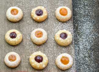 Thumbprint Cookies - Cook For Your Life- anti-cancer recipes