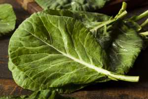 Steamed Collard Greens Recipe Image