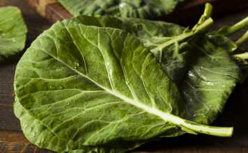 Steamed Collard Greens - Cook For Your Life- anti-cancer recipe