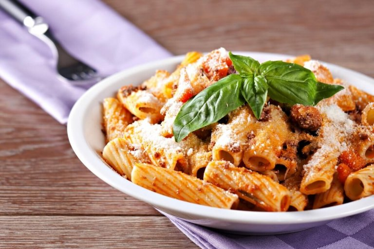 Turkey Sausage Bolognese Recipe Image
